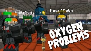 watch the youtube video Minecraft - Mission To Mars - Oxygen Problems! [13]