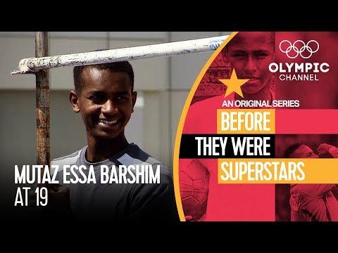 A Teenage Mutaz Barshim Showed High Hopes   Before They Were Superstars