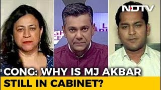 #MeToo: Why Was MJ Akbar Not Asked To Go? - NDTV