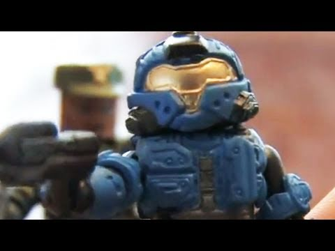 Classic Toy Room - HALO MINIMATES: Sgt. Johnson and Spartan CQB action figures review