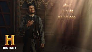 Knightfall: Who Is William de Nogaret? (Season 1) | History - HISTORYCHANNEL