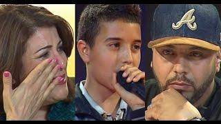 شاهد.. صوت طفل مغربي يُبكي حكام لجنة تحكيم برنامج Big Up