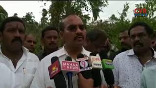 Titli Cyclone Effect | Minister Nimmakayala Chinarajappa visited Srikakulam Dist | CVR News - CVRNEWSOFFICIAL