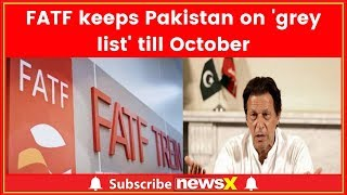 Pak to stay on FATF's 'grey list'; was on notice to be black-listed - NEWSXLIVE