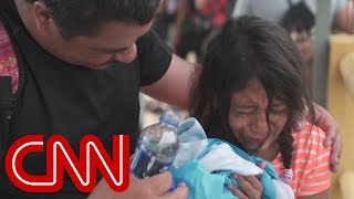 Migrant caravan hit with tear gas on Mexican border - CNN