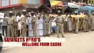Jayalalithaa returns home to Chennai - NDTV