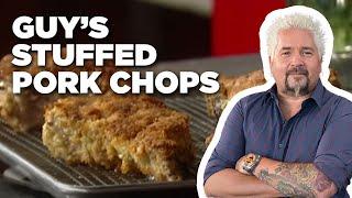 Guy's Stuffed Pork Chops | Food Network - FOODNETWORKTV
