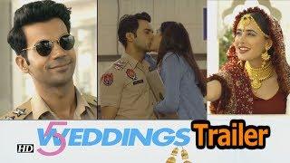 5 Weddings Trailer | Rajkummar Rao-Nargis Fakhri's Love Story - IANSINDIA