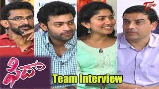 Fidaa Movie Team Interview   Varun Tej, Sai Pallavi   Sekhar Kammula, Dil Raju   #Fidaa - TELUGUONE