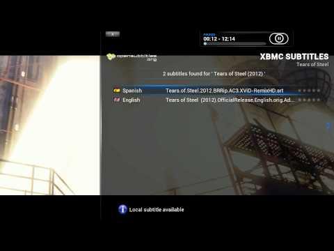 Primeros pasos en XBMC: Cómo buscar subtítulos online sin salir de XBMC