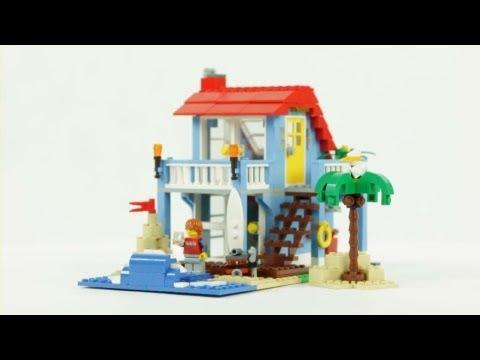 LEGO Creator – Seaside House – Muffin Songs' Oyuncakları Tanıyalım