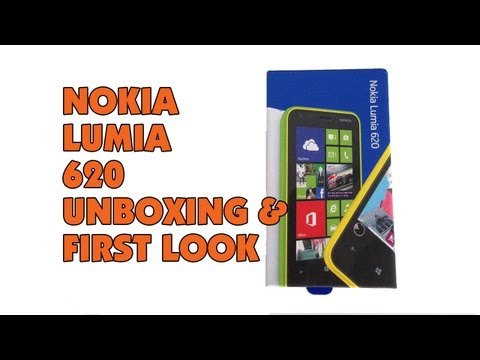 Nokia Lumia 620 Unboxing & First Look