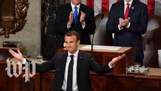 Macron made it clear: He's not Trump - WASHINGTONPOST