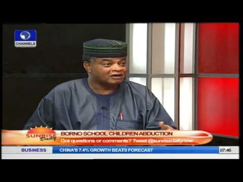 Borno School Abduction: Security Expert Tells Government To Work Harder and Smarter
