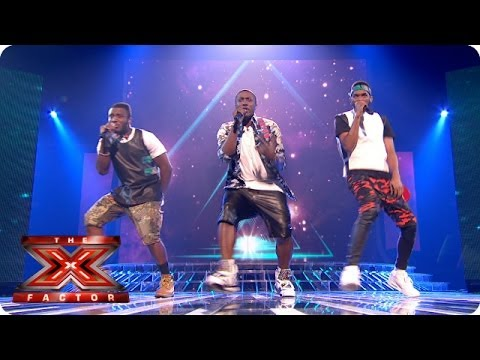 Rough Copy sing Survivor by Destiny's Child  - Live Week 9 - The X Factor 2013