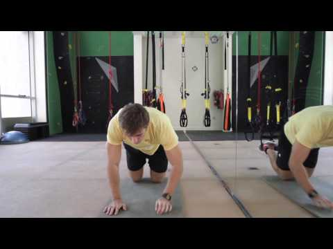 TRX workout week 2 - Oblique crunch