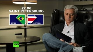 'Talent & creativity': Mourinho picks Brazil over Costa Rica - RUSSIATODAY