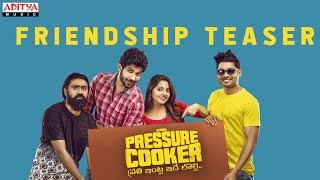 Pressure Cooker Movie | Friendship Day Teaser | Sai Ronak, Rahul Ramakrishna, Rajai Rowan - ADITYAMUSIC
