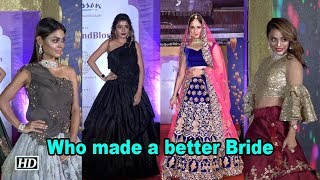 Yuvika, Tina, Soni or Sreejita, who made a better Bride - IANSLIVE