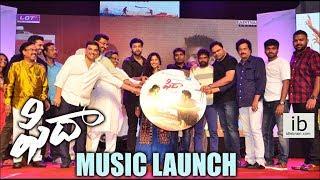 Fidaa music launch | Varun Tej | Sai Pallavi - idlebrain.com - IDLEBRAINLIVE