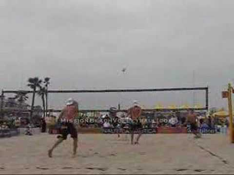 AVP Hermosa Beach Jennings/Williams vs. Morrison/Tramblie 1