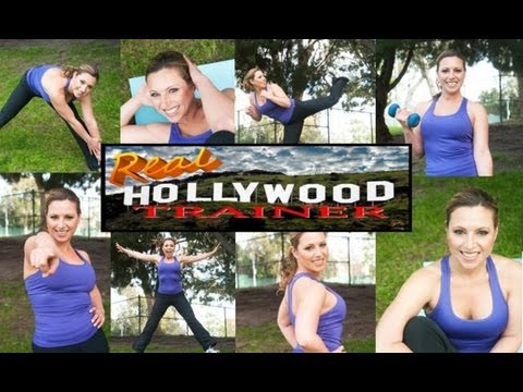 Welcome to my fitness channel-FREE 40 minute workout videos with Real Hollywood Trainer