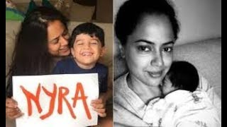 Sameera Reddy Reveals HerNew Born Daughter Name | Nyra Varde - RAJSHRITELUGU