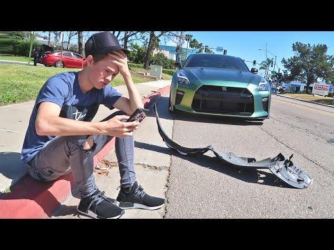 Crashed My GTR...