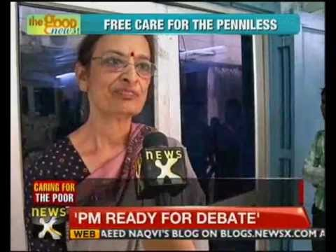 Good News: Delhi doctor runs free clinic for the homeless - NewsX