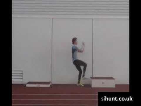 High Jump / Plyometrics Training: Box Take Off 1