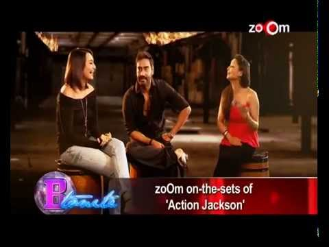 """Ajay Devgn & Sonakshi Sinha""""s EXCLUSIVE Interview   Action Jackson Movie cloned"""
