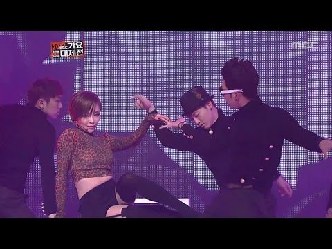 Gain VS Son Dam-bi - 가인 VS 손담비, KMF 2012
