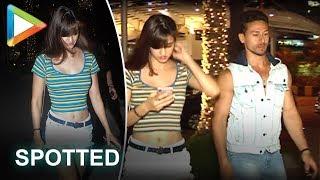 Tiger Shroff spotted on a DATE with girlfriend Disha Patani - HUNGAMA