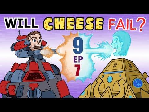 Will Cheese Fail Season 9 Episode 7 -- Starcraft 2 [LAGTV]