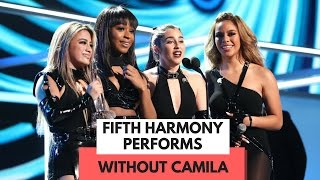 WATCH Fifth Harmony Perform For The First Time Without Camila Cabello! (PCA 2017) - HOLLYWIRETV