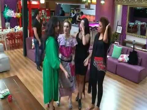 رقص البنات على أغنية بشرة خير  ستار اكاديمي 10
