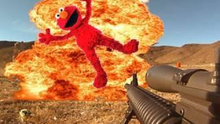 Elmo Headshot Explosion