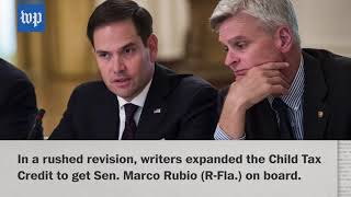 The last-minute revision that won Rubio's support for the GOP tax bill - WASHINGTONPOST