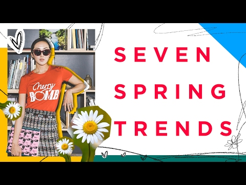 Spring Trends 2017 Lookbook