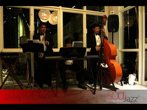 HK Wedding Live Jazz Band(Hong Kong):Fati Live music- Quando (Heineken 海尼根啤酒廣告曲)@L16