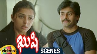 Bhumika Abuses Pawan Kalyan | Kushi Telugu Movie Scenes | Ali | Mango Videos - MANGOVIDEOS