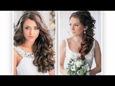 Svatební účesy dlouhé vlasy