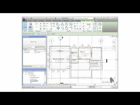 Formation Autodesk Revit gratuite – dessiner des chambres