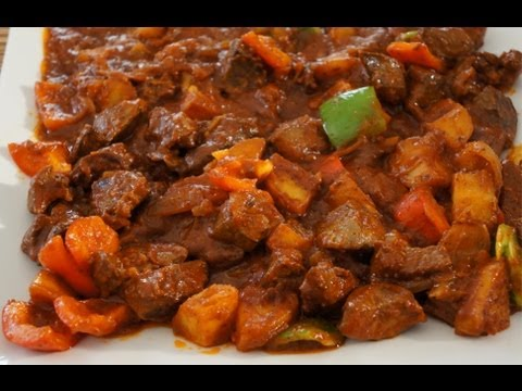 Beef Mechado Recipe How to cook great food Asian Filpino Pinoy cooking
