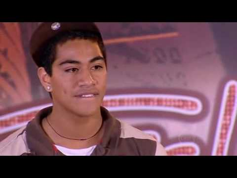 Joseph Gatehau Australian Idol Auditon D'verse