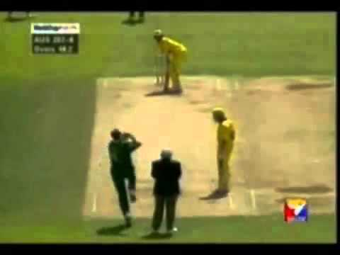 Cricket bowling at its best. bowled ! bowled! bowled! - YouTube.flv