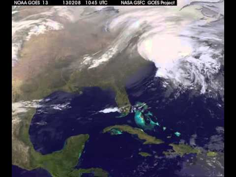 Merging Storms Fueled Record-Setting Blizzard - NASA View