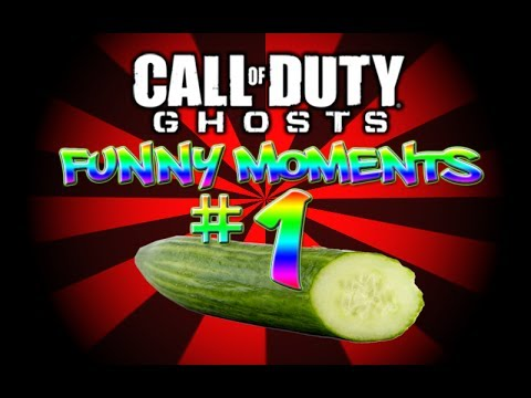 CoD Ghosts Funny Moments #1 (Sea Cucumbers, Bad Eyesight and the Nae Nae!)