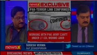 Cerificates issued to terrorists by Pak army; NewsX accesses documents proving Pal-terror link - NEWSXLIVE