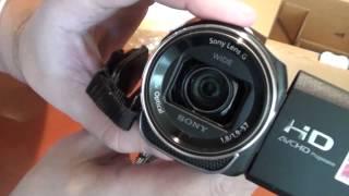 Моя новая видеокамера Sony HDR-CX400E